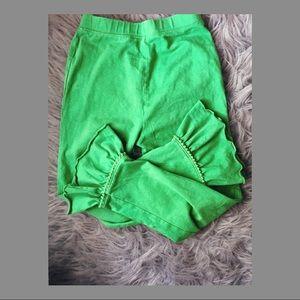 Bottoms - Long Ruffle Pants